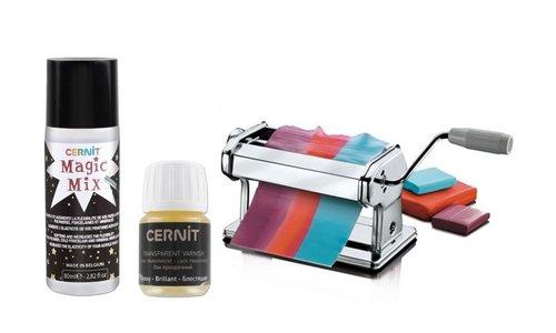 Cernit Varnish, Textures & Tools