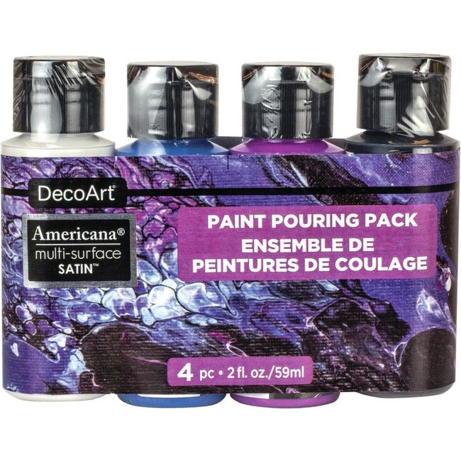 DecoArt Verf Pouring Pack Multi Surface - Galaxy