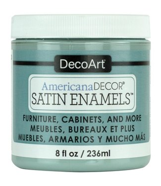 Americana Decor Satin Enamels Seaside Blue 8 fl oz (236 ml.)