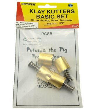Kemper Tools - Klay Cutters Basic Set