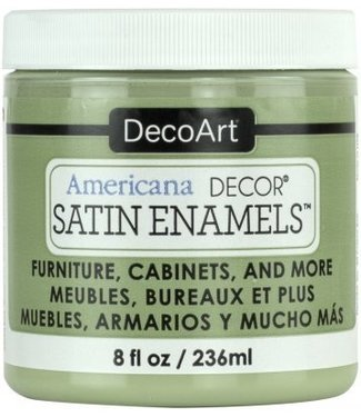 Americana Decor Satin Enamels Moss Green 8 fl oz (236 ml.)