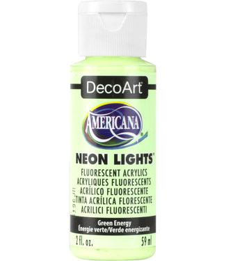 Americana Acryl Verf Neon Lights Green Energy