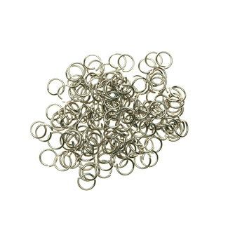 Stainless steel jump rings 8 mm. 50 pieces