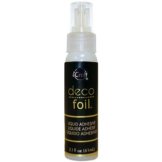iCraft Deco Foil Liquid Adhesive 2.1 fl oz (61 ml.)