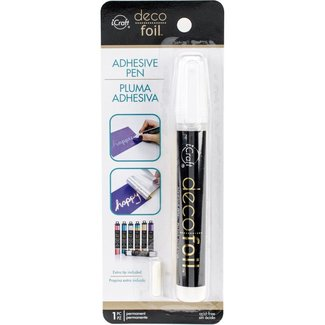iCraft Deco Foil Adhesive Pen 0.34 fl oz (10 ml.)