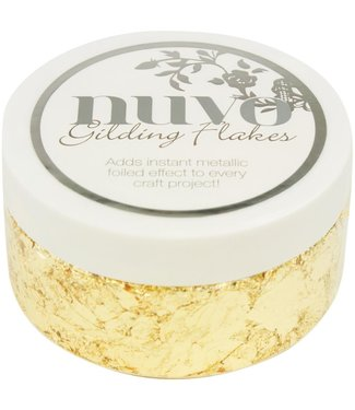 Nuvo Gilding Flakes Radient Gold 192 gram