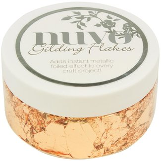 Nuvo Gilding Flakes Sunkissed Copper 6.8 oz (192 g)