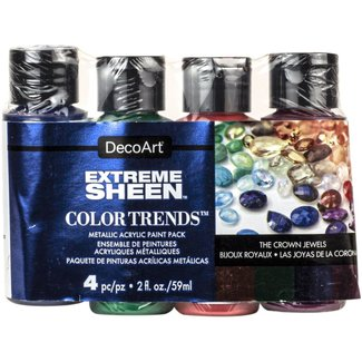 DecoArt Verf Extreme Sheen Pack - The Crown Jewels -