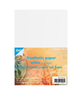 Joy Crafts Yupo Paper white A5 format 10 pieces