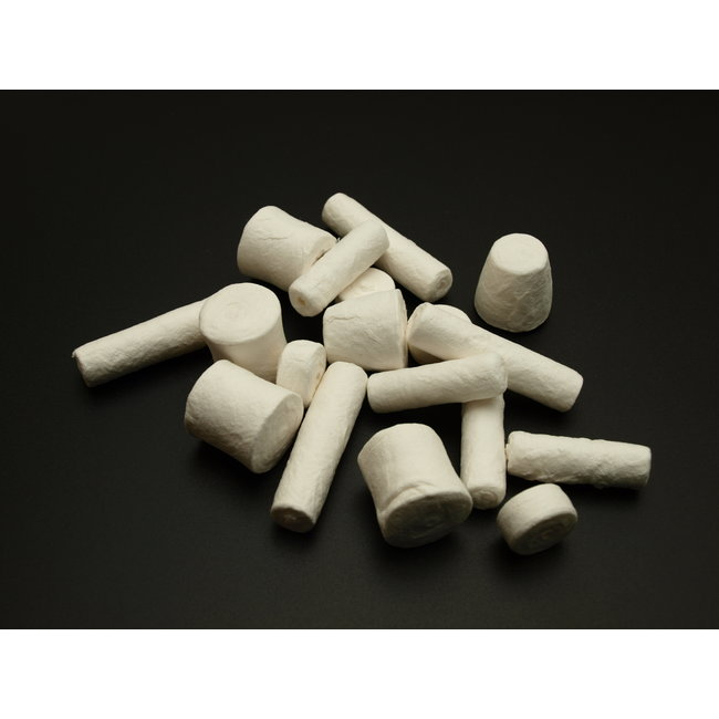 Cotton cylinders 18 pieces