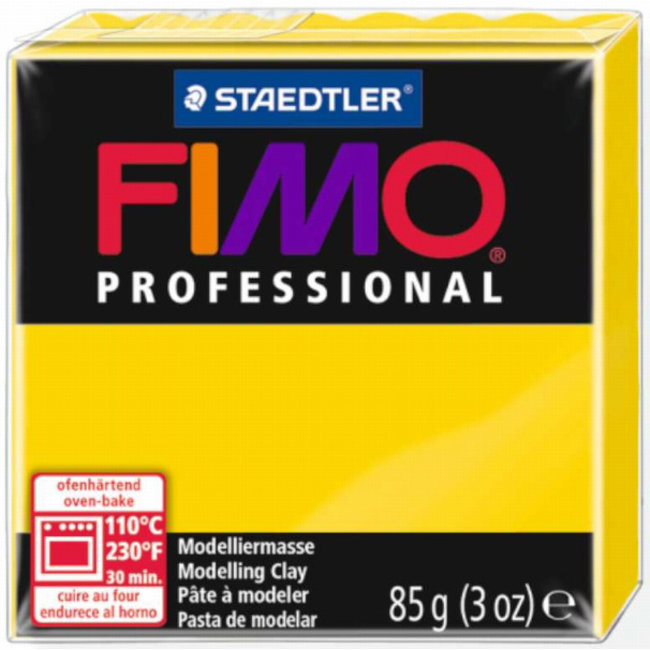 Staedtler Fimo Professional Primary Yellow (100) 3 oz - 85 g