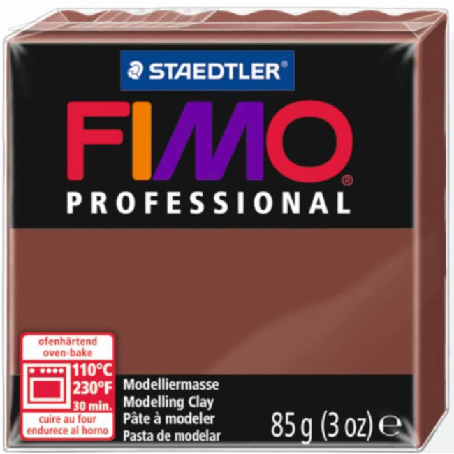 Staedtler Fimo Professional Chocolate (77) 3 oz - 85 g
