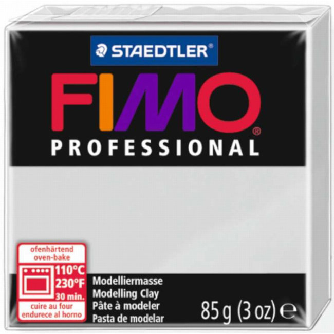 Staedtler Fimo Professional Dolphin Gray (80) 3 oz - 85 g