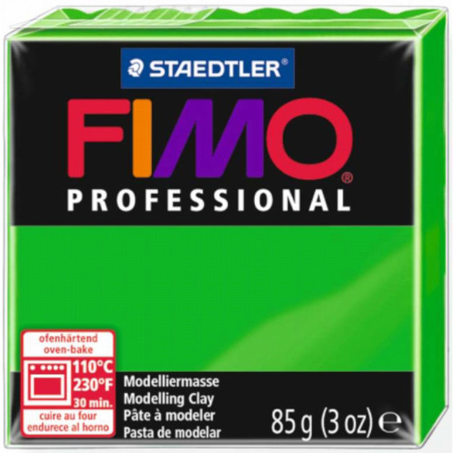 Staedtler Fimo Professional Green (5) 3 oz - 85 g