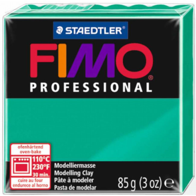Staedtler Fimo Professional Primary Green (500) 3 oz - 85 g
