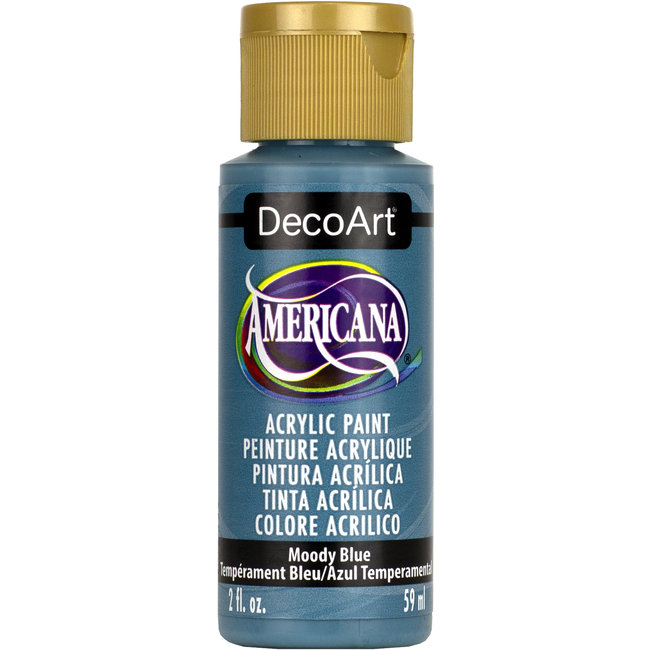 DecoArt Americana Acryl Verf French Moody Blue