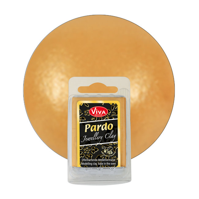 Viva Decor Pardo Jewelry Clay Metallic Gold (904) 56 gram
