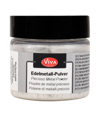 Viva Decor Precious Metal Powder Silver 5 gram