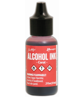 Ranger Alcohol Inkt Coral 14 ml.