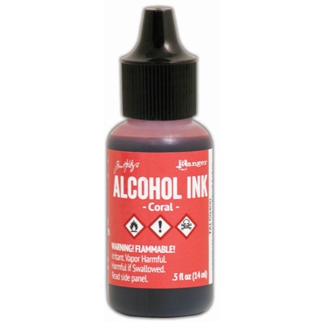 Ranger Alcohol Ink Coral 14 ml.
