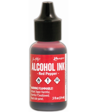 Ranger Alcohol Ink Red Pepper 14 ml.