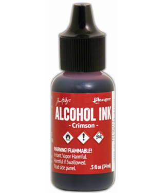 Ranger Alcohol Ink Crimson 14 ml.