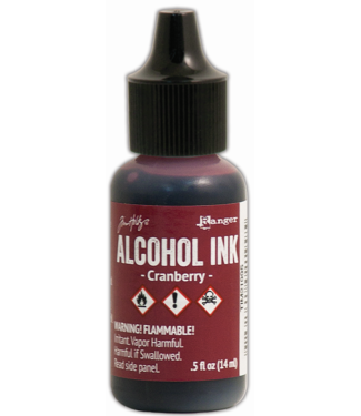 Ranger Alcohol Ink Cranberry 14 ml.