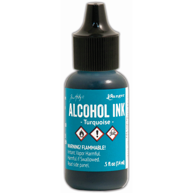 Ranger Alcohol Ink Turquoise 14 ml.