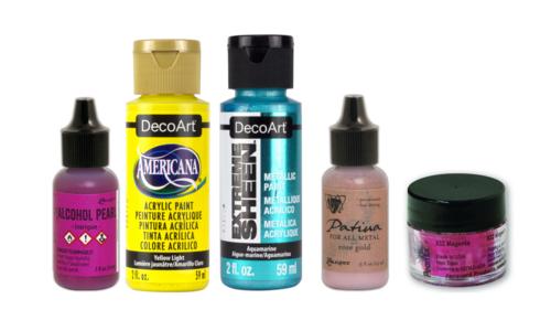 Verf, Inkt & Pigmenten