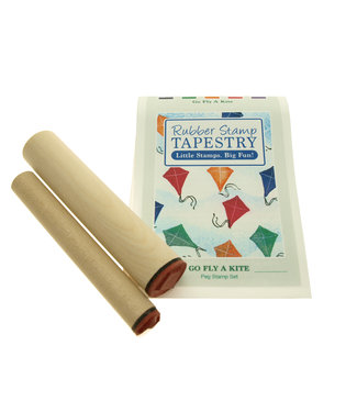 Rubber Stamp Tapestry Set - Go Fly a Kite