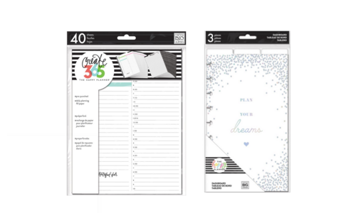 Filler Papers, Dividers & Dashboards