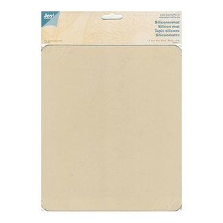 Joy! crafts Siliconen mat creme 21 x 30 cm.