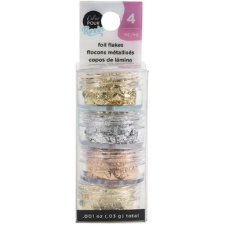 Color Pour Resin Mix-Ins Foil Flakes Metallic
