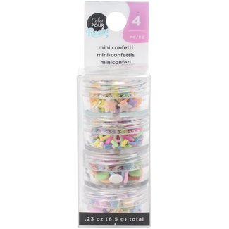 Color Pour Resin Mix-Ins Mini Confetti Bright
