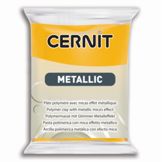 Cernit Metallic Yellow (700) 2 oz - 56 g