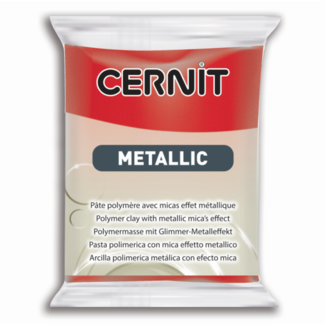 Cernit Metallic Red (400) 2 oz - 56 g