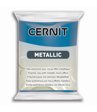 Cernit Metallic Blue (200) 2 oz - 56 g