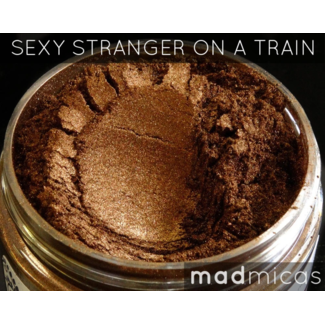 MadMicas Mica Poeder Sexy Stranger On A Train Brown