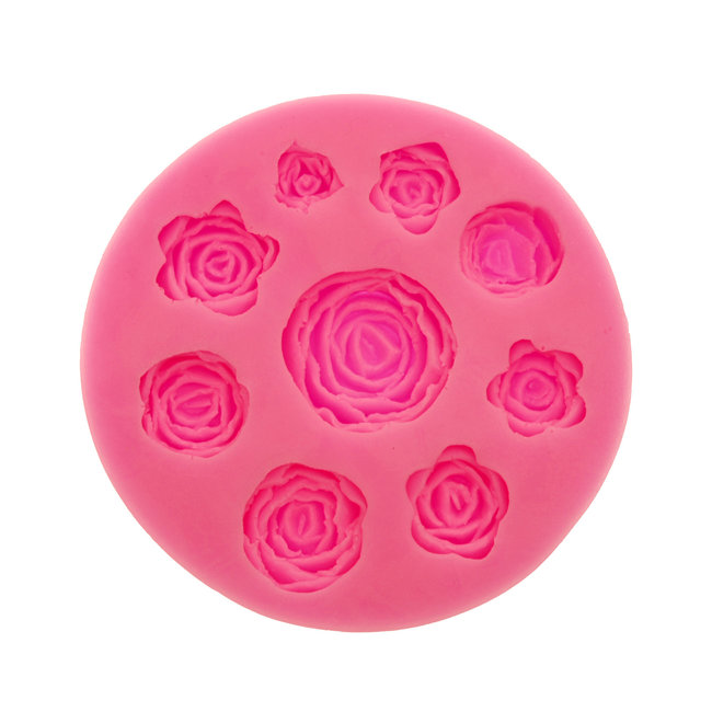 Silicone Mold Roses