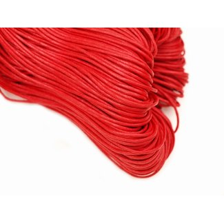 Wax cord Red thickness 2 mm. 3 meters