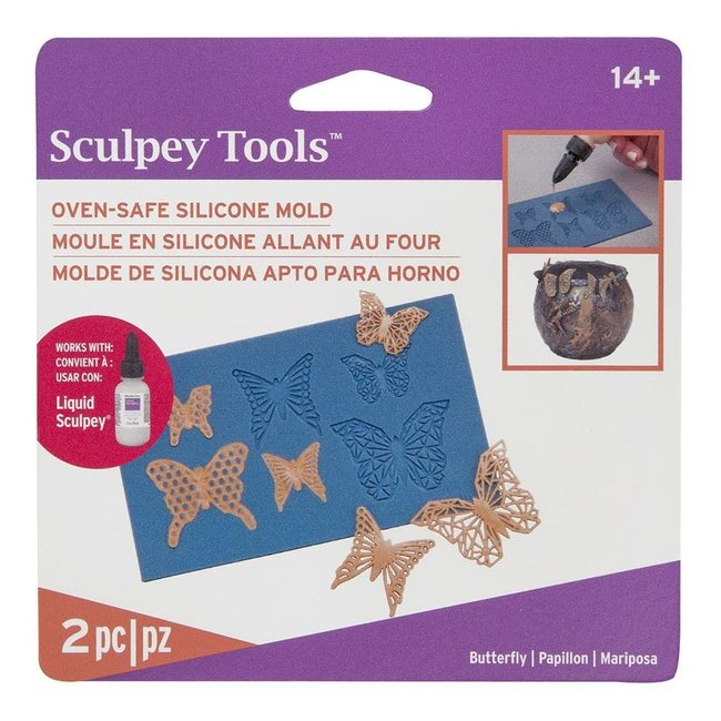 Sculpey Siliconen Mal Butterfly