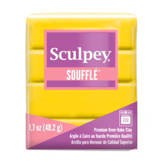 Sculpey Souffle Canary (6072) 48 grams