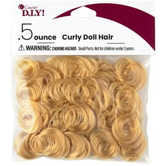 Cousin D.I.Y.! Blonde Curly Doll Hair