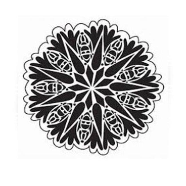 The Crafter's Workshop Stencil Mini Bug Doily