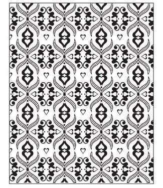 """Lisa Pavelka Texture Stamp """"Victorian Lace"""""""