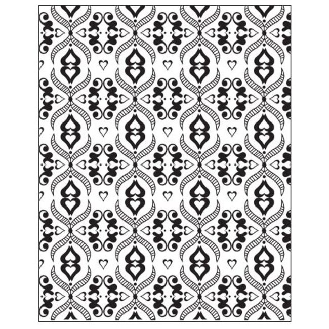 Lisa Pavelka Texture Stamp Victorian Lace