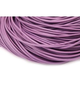 Purple Leather thickness 2 mm. length 3 meters