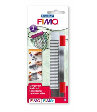 Fimo Blades 3 (Normal, Flexible & Wave)