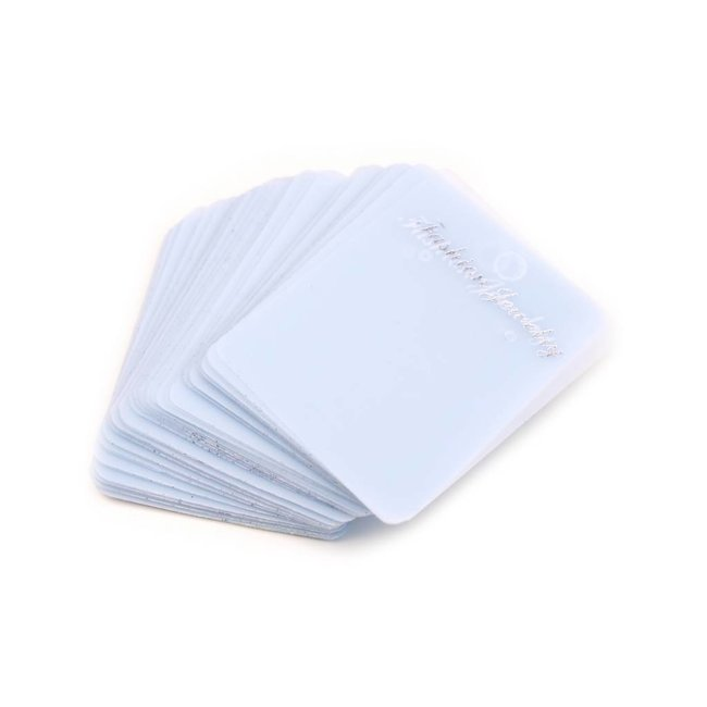Cards for earrings transparent 10 pieces