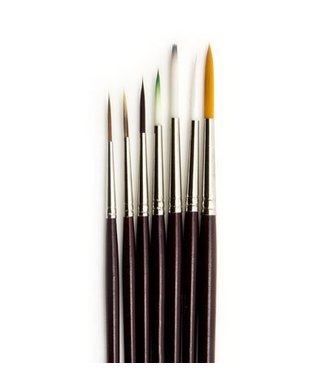 Brushes Kit 7 pieces